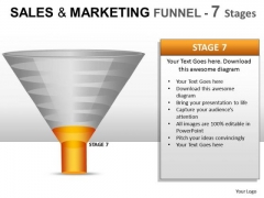 PowerPoint Graphic Funnel Sales Marketing Ppt Slides