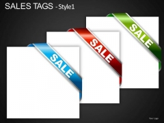 PowerPoint Graphics Sales Tags Editable Ppt Slides