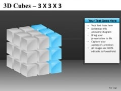 PowerPoint Graphics With Cube Diagrams