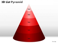 PowerPoint Layout Bulleted List Chart Pyramid Ppt Process