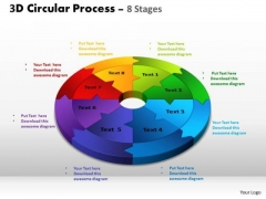 PowerPoint Layout Chart Circular Process Cycle Ppt Slide Designs