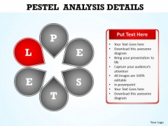 PowerPoint Layout Chart Pestel Analysis Ppt Design