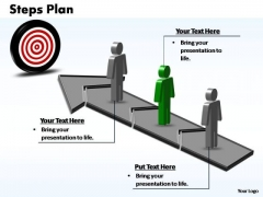 PowerPoint Layout Chart Steps Plan 3 Stages Style 3 Ppt Backgrounds