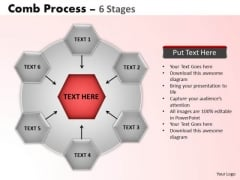 PowerPoint Layout Chart Wheel And Spoke Process Ppt Slides