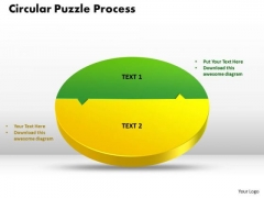 PowerPoint Layout Circular Puzzle Process Graphic Ppt Template