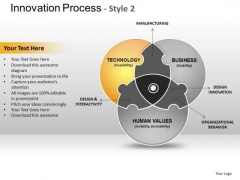 PowerPoint Layout Company Innovation Process Ppt Templates