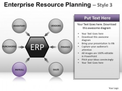 PowerPoint Layout Corporate Designs Enterprise Resource Planning Ppt Theme