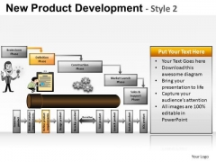 PowerPoint Layout Corporate Education New Product Development Ppt Layout