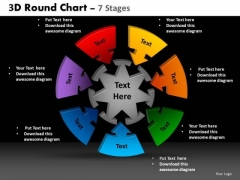 PowerPoint Layout Diagram Round Chart Ppt Layouts