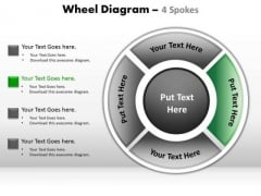 PowerPoint Layout Diagram Wheel Diagram Ppt Template