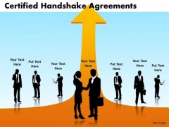 PowerPoint Layout Download Certified Handshake Ppt Layouts