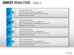 PowerPoint Layout Download Swot Analysis Ppt Design