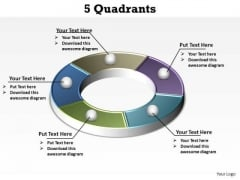 PowerPoint Layout Education Quadrants Ppt Backgrounds