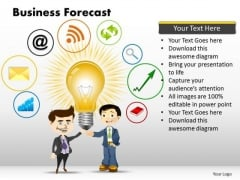 PowerPoint Layout Global Business Forecast Ppt Designs