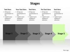 PowerPoint Layout Graphic Stages Ppt Slide