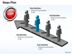PowerPoint Layout Graphic Steps Plan 4 Stages Style 5 Ppt Designs