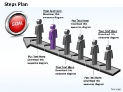PowerPoint Layout Graphic Steps Plan 6 Stages Style 5 Ppt Designs