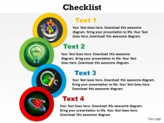 PowerPoint Layout Growth Checklist Ppt Backgrounds