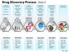 PowerPoint Layout Leadership Drug Discovery Ppt Designs