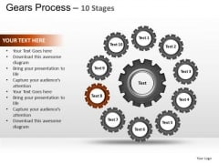 PowerPoint Layout Leadership Gears Process Ppt Design