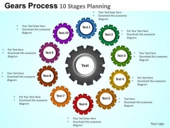 PowerPoint Layout Leadership Goals And Targets Ppt Theme