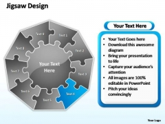 PowerPoint Layout Leadership Jigsaw Format Ppt Presentation