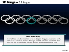 PowerPoint Layout Leadership Rings Ppt Layout