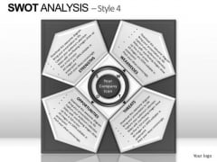 PowerPoint Layout Leadership Swot Analysis Ppt Layout