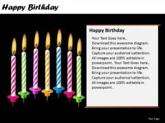 PowerPoint Layout Marketing Happy Birthday Ppt Design