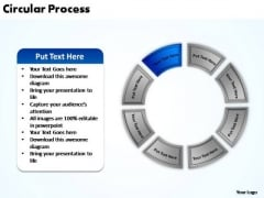 PowerPoint Layout Process Circular Process Ppt Backgrounds