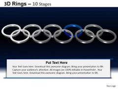 PowerPoint Layout Process Rings Ppt Layouts
