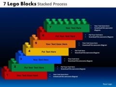PowerPoint Layout Sales Lego Blocks Ppt Slide