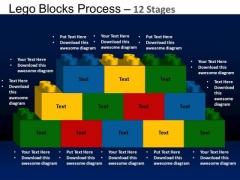 PowerPoint Layout Sales Lego Blocks Ppt Slides