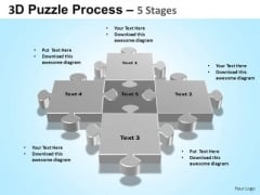PowerPoint Layout Success Puzzle Process Ppt Design Slides