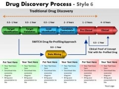 PowerPoint Layout Teamwork Drug Discovery Ppt Template