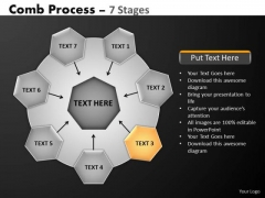 PowerPoint Layout Teamwork Hub And Spokes Process Ppt Design Slides