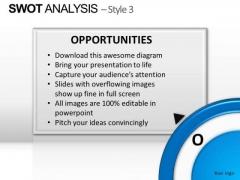 PowerPoint Layout Teamwork Swot Analysis Ppt Template