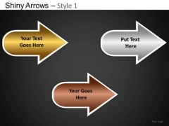 PowerPoint Layouts Business Teamwork Shiny Arrows Ppt Slide Designs