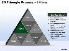 PowerPoint Layouts Business Triangle Process Ppt Layouts