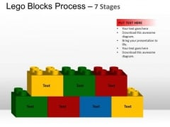 PowerPoint Layouts Chart Lego Blocks Ppt Slides