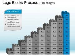 PowerPoint Layouts Chart Lego Blocks Ppt Templates