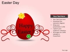PowerPoint Layouts Christianity Easter Day Ppt Slide