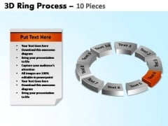 PowerPoint Layouts Circle Chart Ring Process Ppt Theme