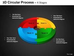 PowerPoint Layouts Circular Chart Circular Process Ppt Presentation