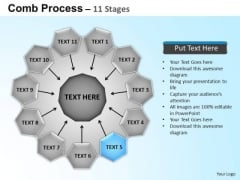 PowerPoint Layouts Circular Flow Diagram Ppt Template