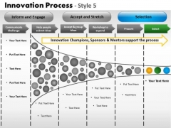 PowerPoint Layouts Company Innovation Process Ppt Designs
