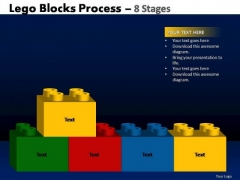 PowerPoint Layouts Company Lego Blocks Ppt Designs