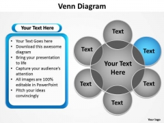 PowerPoint Layouts Company Venn Diagram Ppt Design