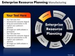 PowerPoint Layouts Diagram Enterprise Resource Ppt Process