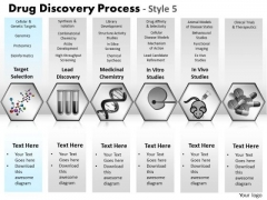 PowerPoint Layouts Editable Drug Discovery Ppt Theme